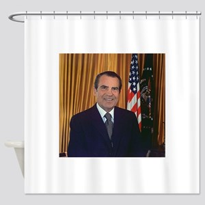 ricjard nixon Shower Curtain