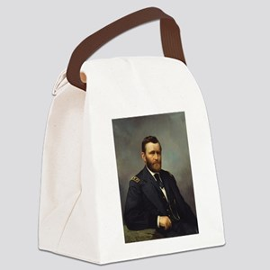 ulysses s grant Canvas Lunch Bag