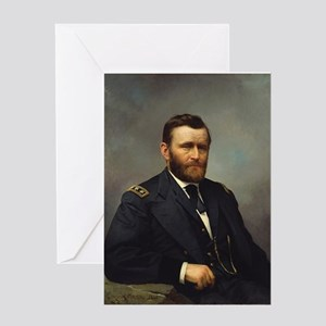 ulysses s grant Greeting Cards