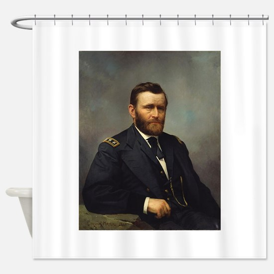 ulysses s grant Shower Curtain