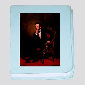 abe lincoln baby blanket