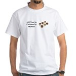 Christmas Muffins White T-Shirt