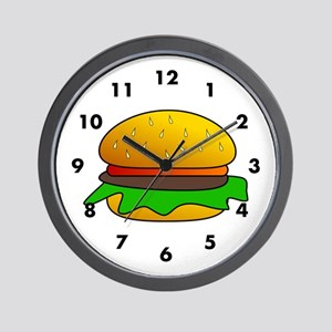 Burger Time Wall Clock