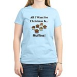 Christmas Muffins Women's Light T-Shirt