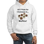 Christmas Muffins Hooded Sweatshirt