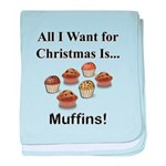 Christmas Muffins baby blanket