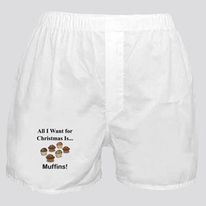 Christmas Muffins Boxer Shorts