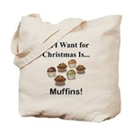 Christmas Muffins Tote Bag