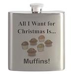 Christmas Muffins Flask