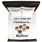 Christmas Muffins King Duvet