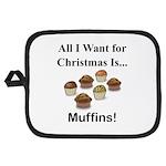 Christmas Muffins Potholder