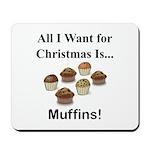 Christmas Muffins Mousepad