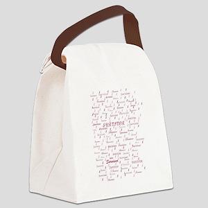 Cancer Survivors  Canvas Lunch Bag
