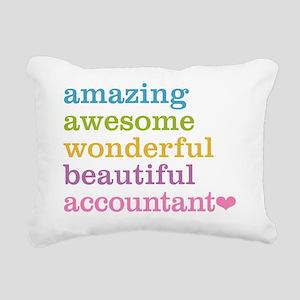 Amazing Accountant Rectangular Canvas Pillow