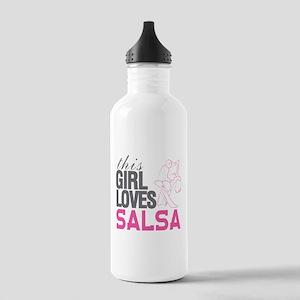 This Girl Loves Salsa Stainless Water Bottle 1.0L