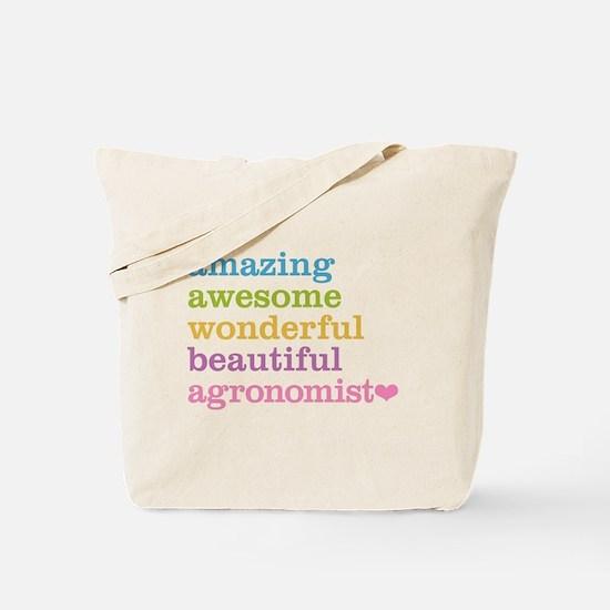 Amazing Agronomist Tote Bag