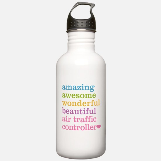Air Traffic Controller Water Bottle