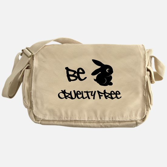 Be Cruelty Free Messenger Bag