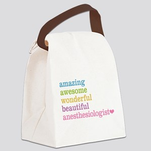 Anesthesiologist Canvas Lunch Bag