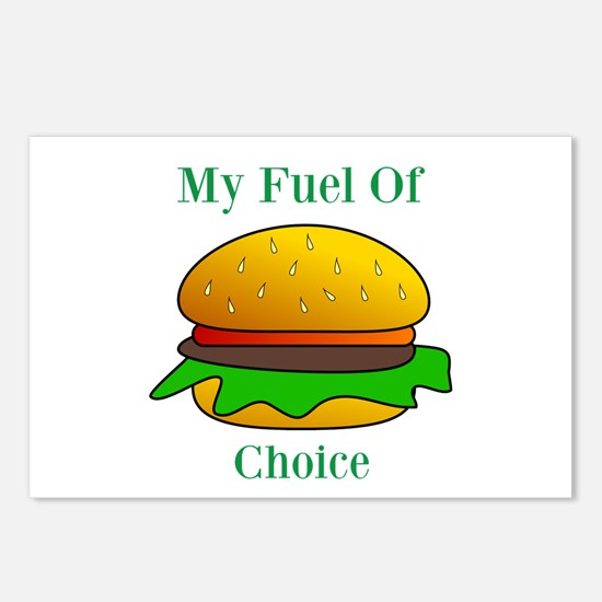 My Fuel Of Choice Postcards (Package of 8)