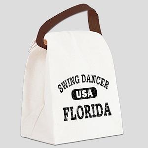 Swing Dancer Florida Canvas Lunch Bag