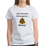 Christmas Money Women's T-Shirt