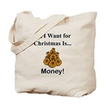 Christmas Money Tote Bag