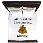 Christmas Money King Duvet