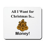 Christmas Money Mousepad