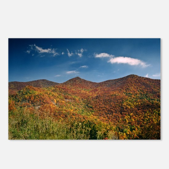 Autumn on the Mountains of the Parkway Postcards (