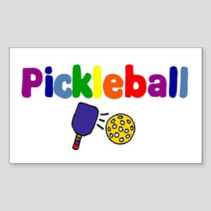 Pickleball Art Sticker