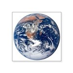 Earth From Space - Nasa Photo Square Sticker 3&quo