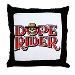 Dope Rider Throw Pillow
