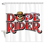 Dope Rider Shower Curtain