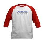 Law Of Right Action Baseball Jersey