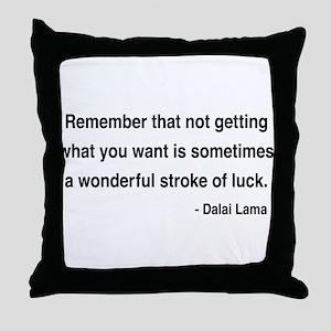 Dalai Lama 9 Throw Pillow