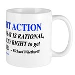 Law Of Right Action Mugs