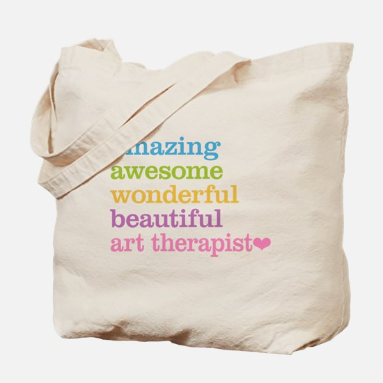 Art Therapist Tote Bag