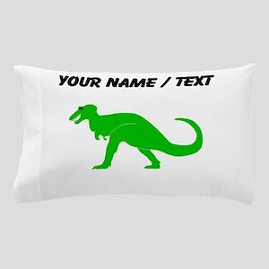 Green T-Rex (Custom) Pillow Case