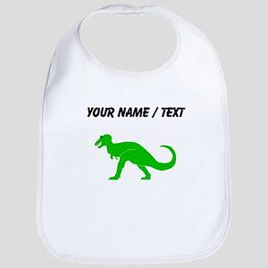 Green T-Rex (Custom) Bib