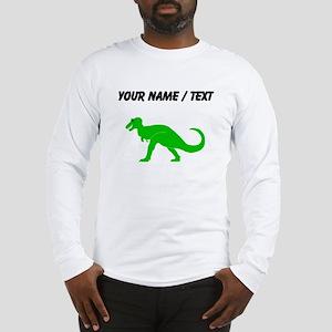 Green T-Rex (Custom) Long Sleeve T-Shirt