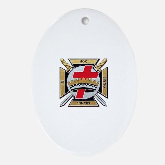York Rite Ornament (Oval)
