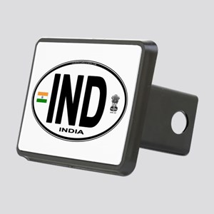 india-euro-oval Rectangular Hitch Cover