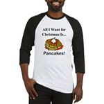 Christmas Pancakes Baseball Jersey