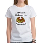 Christmas Pancakes Women's T-Shirt
