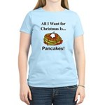 Christmas Pancakes Women's Light T-Shirt