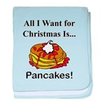 Christmas Pancakes baby blanket
