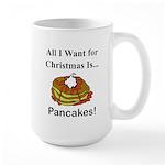 Christmas Pancakes Large Mug