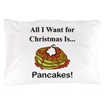 Christmas Pancakes Pillow Case