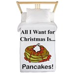 Christmas Pancakes Twin Duvet